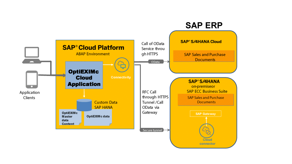 SAP Cloud Based Solution